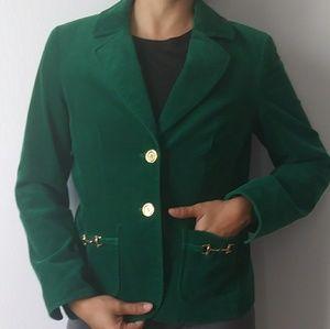 Emerald greenTalbots corduroyed jacket
